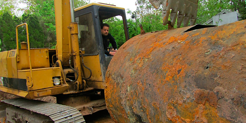 Oil Tank Removal Services
